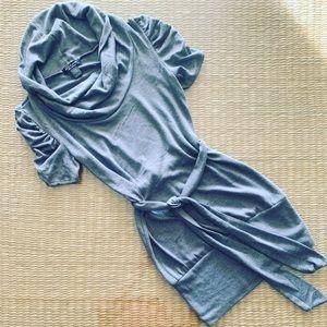 Jersey knit mini dress